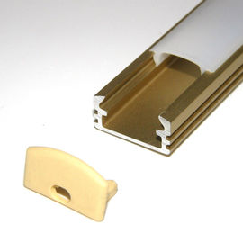 OEM 30w Extrusion Aluminium LED Profiles Heatsink Cooling For Led Strip / Light fixtures