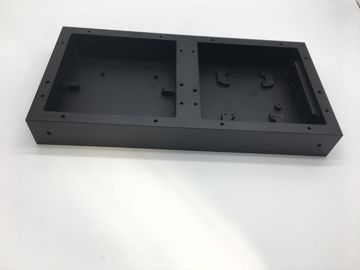 Customized CNC Machining Parts Traffic Light Box with Black Anodizing