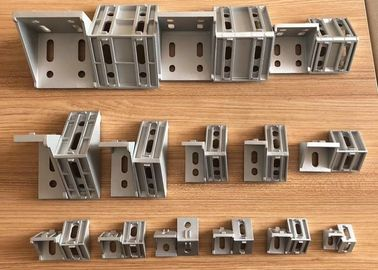90 Degree Corner Connector Custom Aluminum Extrusions Die Cast Brace Joint Angle Bracket